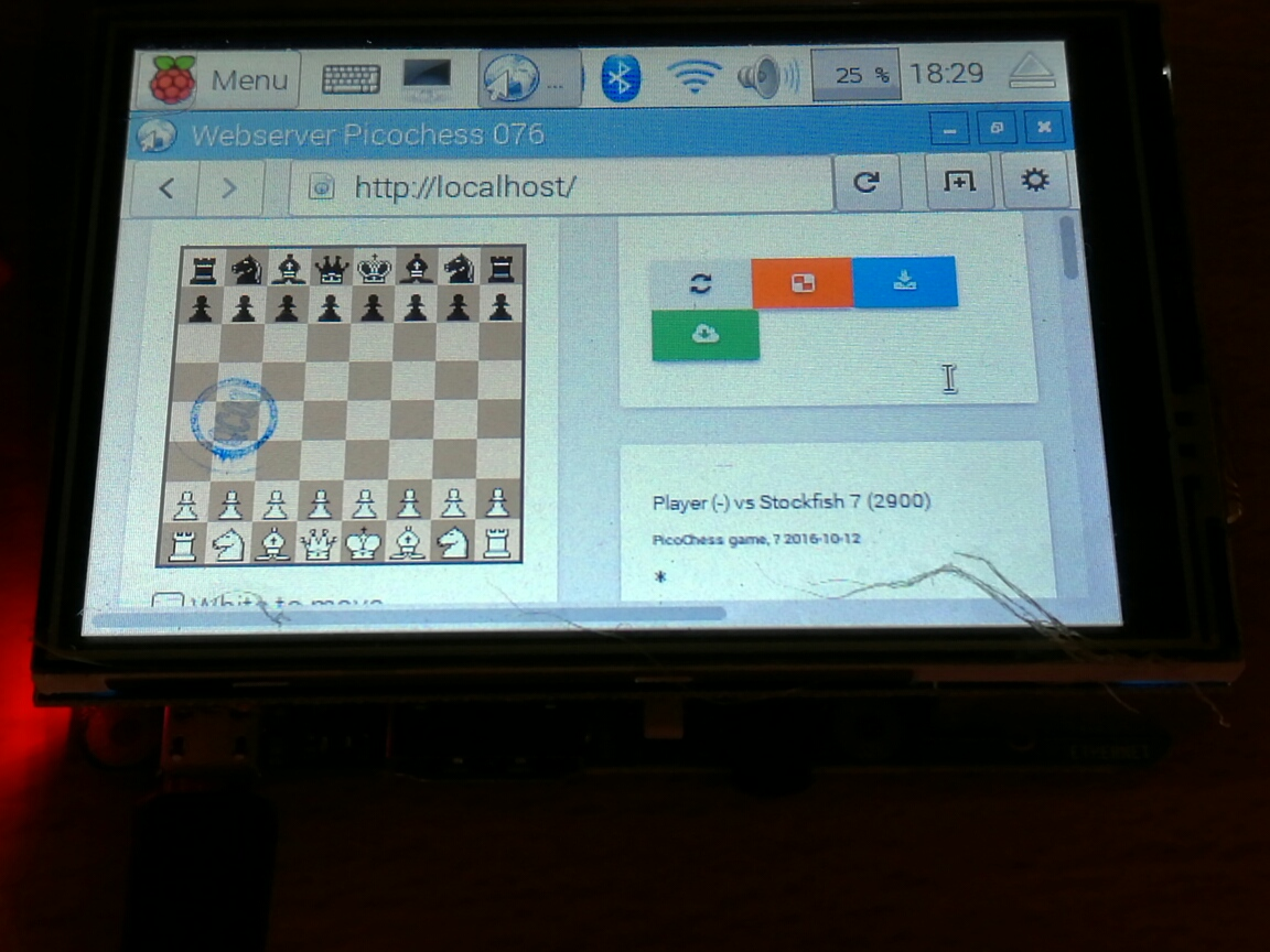 better display for picochess v0.75