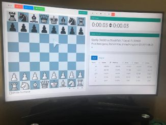 picochess on a 4k TV