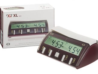 DGT-XL chess clock red