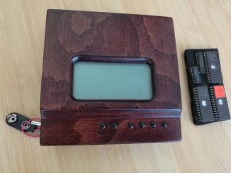 H8/325 V2.0 Thinking Machine in wood case